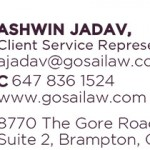 Gosai Law Card ASHWIN